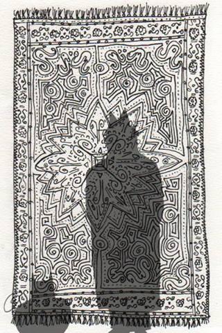24/100 Tekening van Olaf Zefanja de Baar